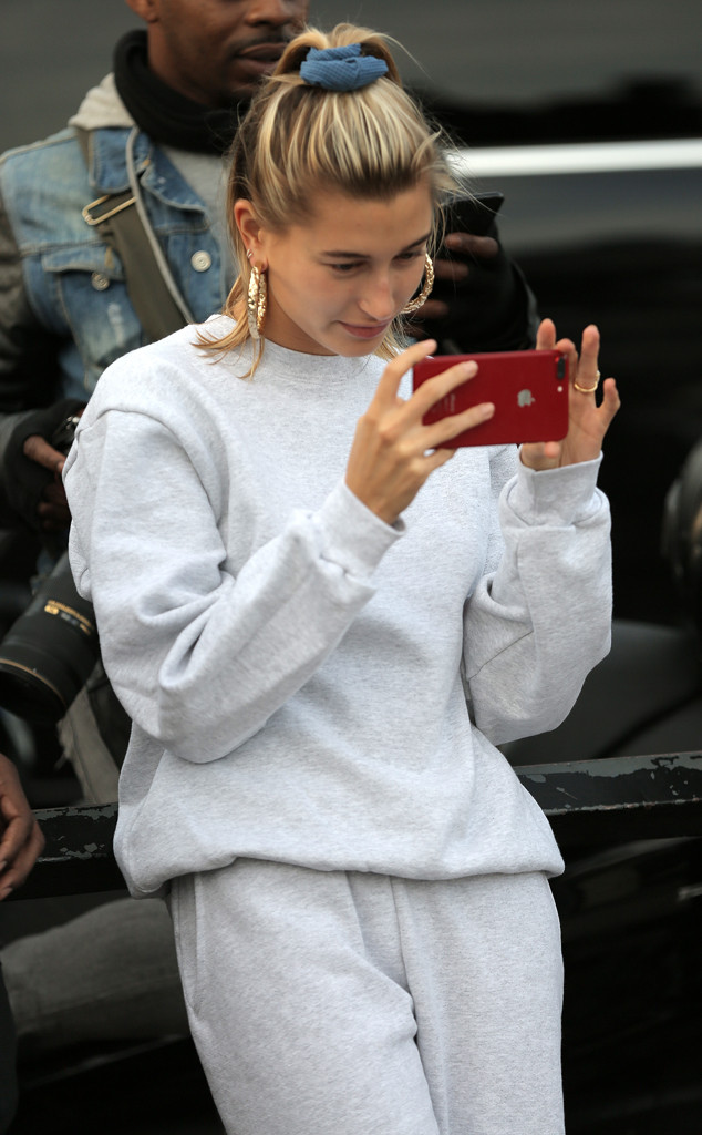 Hailey Baldwin, London
