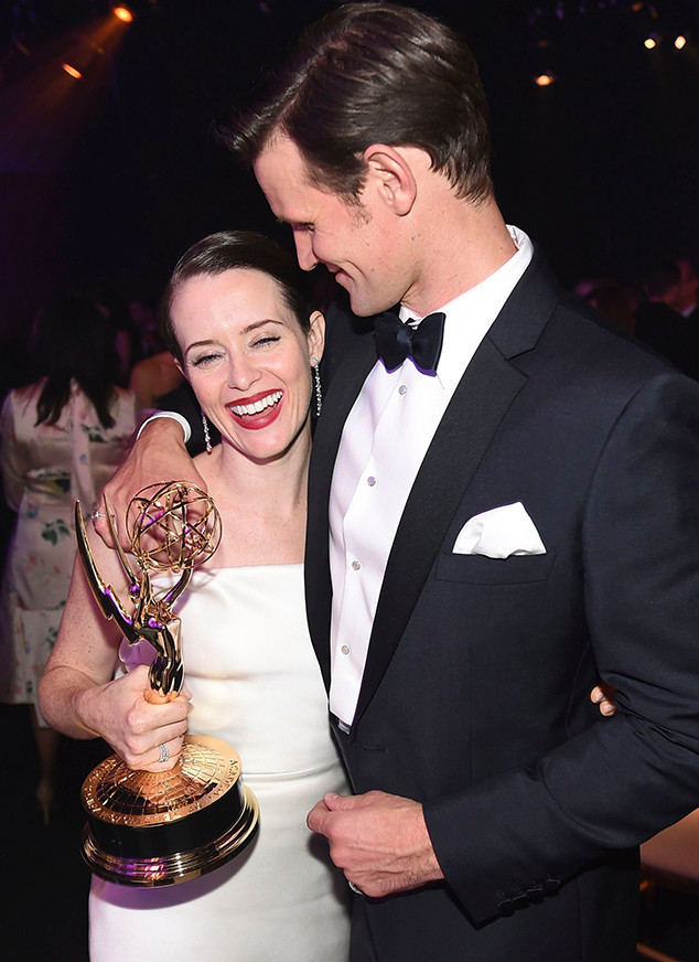 Claire Foy, Matt Smith, 2018 Emmy After Party Pics