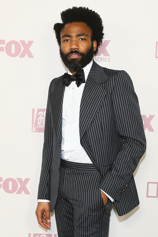 Donald Glover, 2018 Emmy After Party Pics