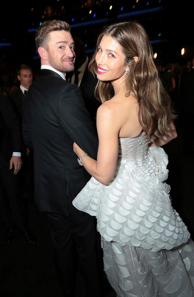 Justin Timberlake, Jessica Biel, 2018 Emmys, 2018 Emmy Awards, Candids