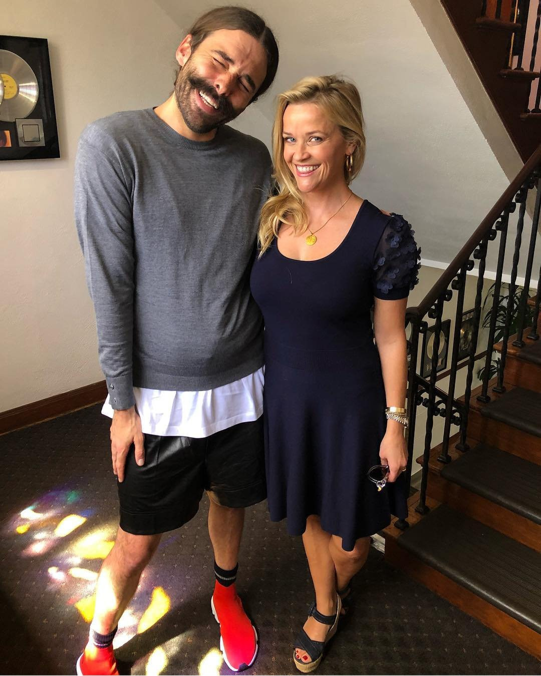 Jonathan Van Ness, Reese Witherspoon