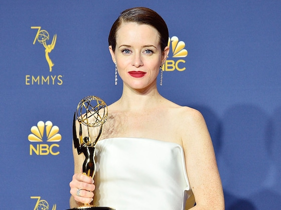 This <i>Queer Eye</i> Star Helped Claire Foy Get Into an Emmys Party