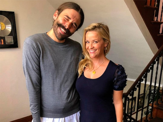 Reese Witherspoon and Jonathan Van Ness' Chat Is Bound to Perk You Up