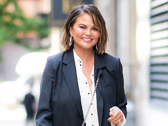 Chrissy Teigen Shows 4 Ways to Layer Dresses in the Fall