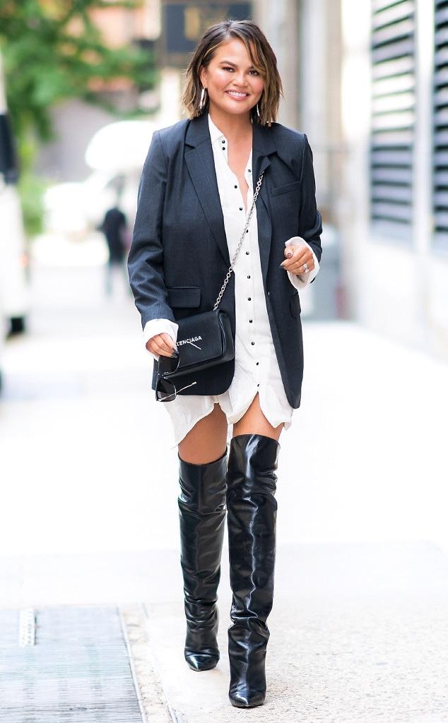 ESC: Fall Boots, Chrissy Teigen