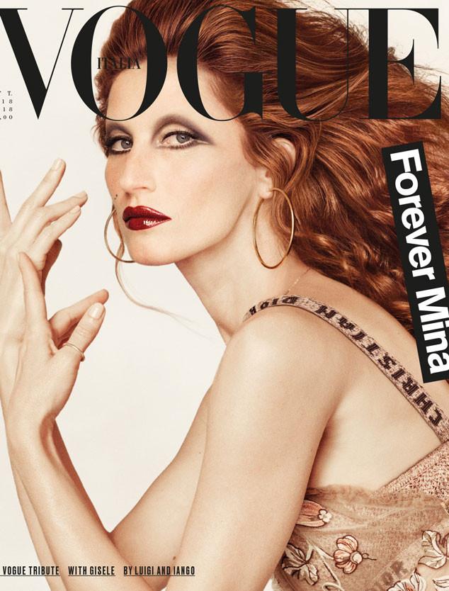 Gisele Bündchen Is Virtually Unrecognizable on Vogue ...