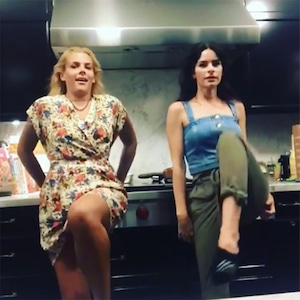 Busy Philipps, Parody, Dancing, Lindsay Lohan, Instagram
