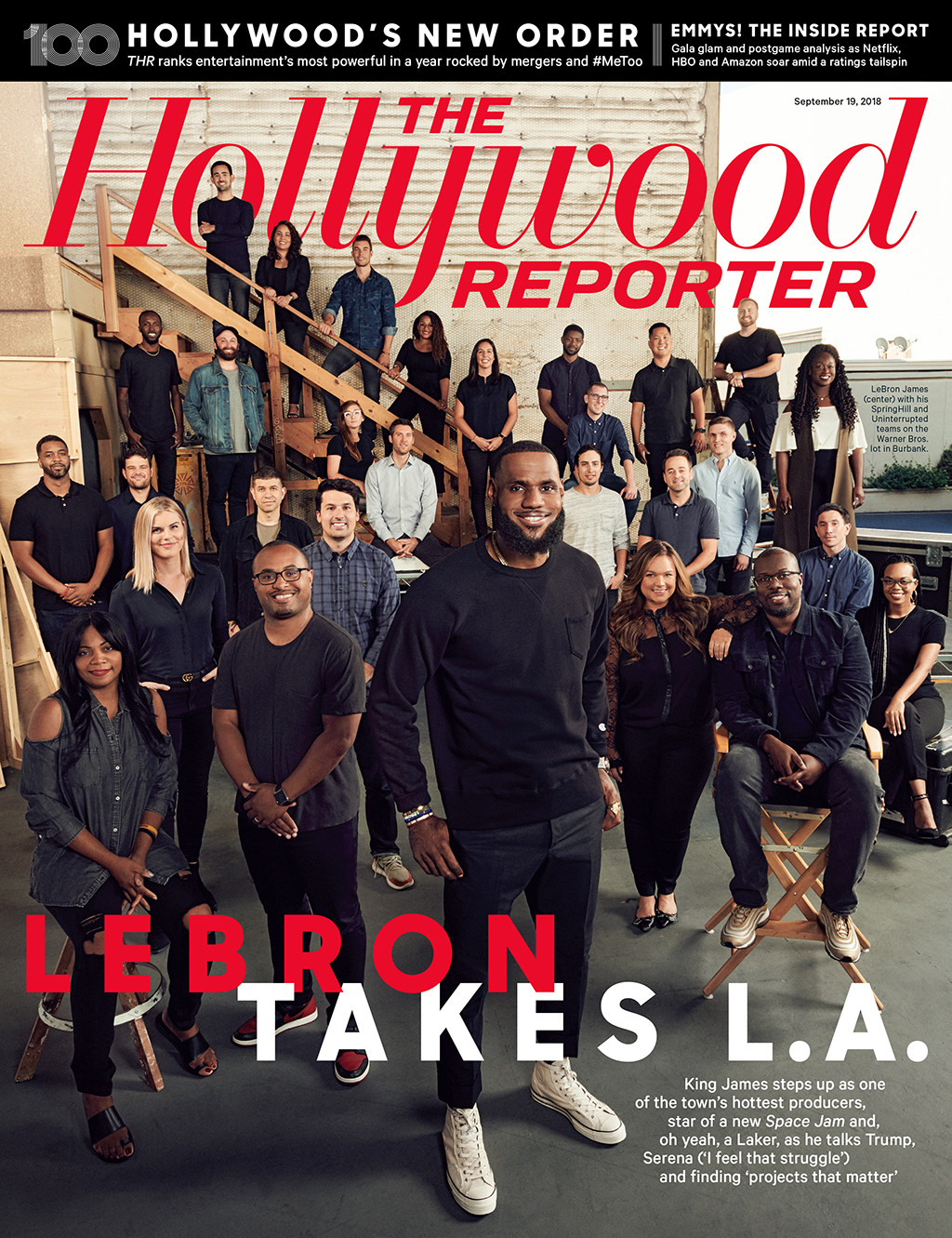 LeBron James, The Hollywood Reporter