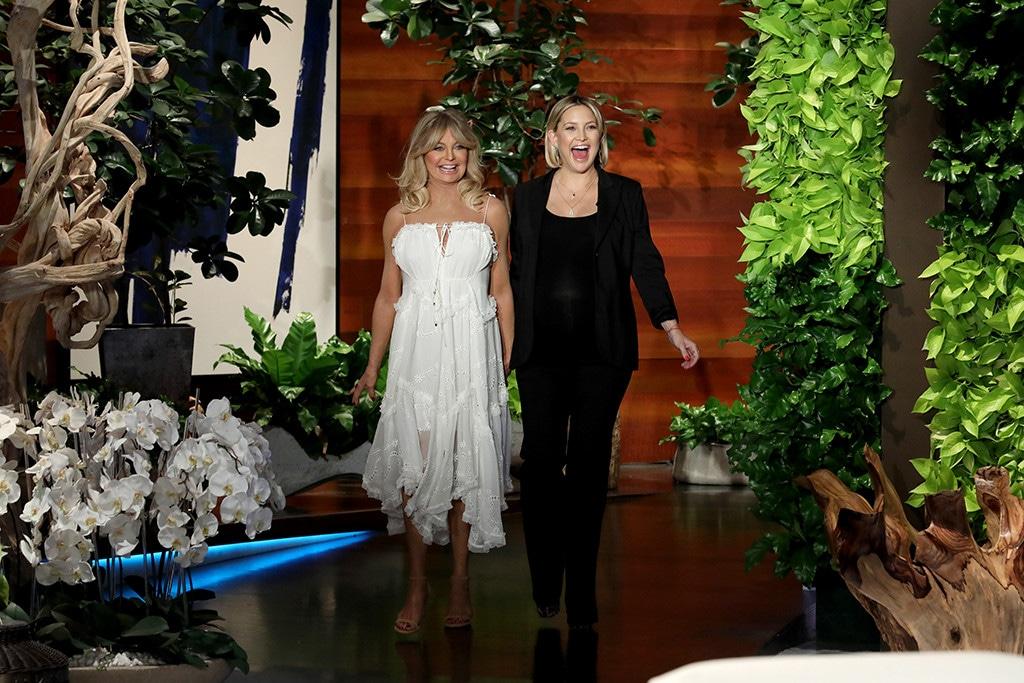 Goldie Hawn, Kate Hudson, The Ellen DeGeneres Show