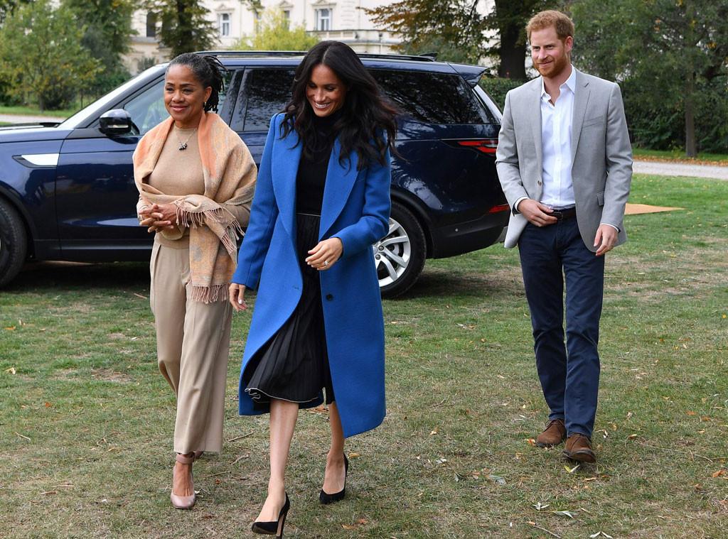 Doria Ragland, Meghan Markle, Prince Harry