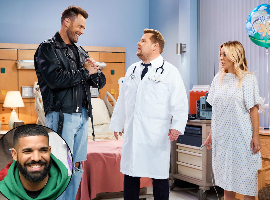 Watch Kaley Cuoco, James Corden and Joel McHale's Hilarious Drake-Inspired Soap Opera