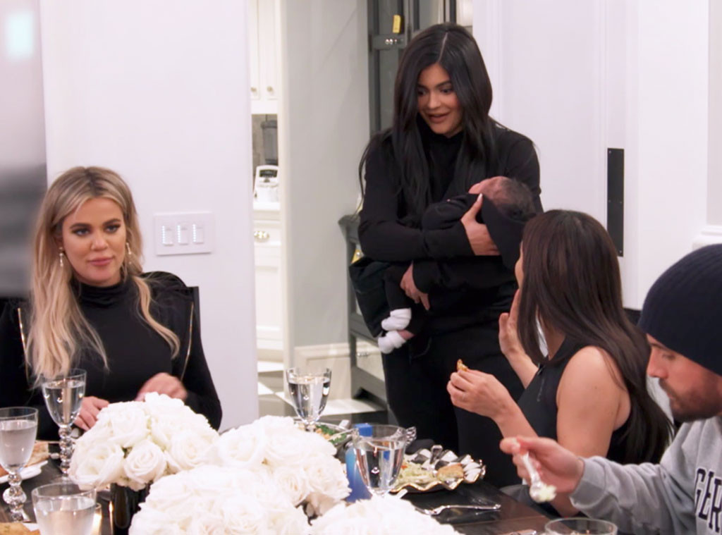 Kylie Jenner, Stormi Webster, Khloe Kardashian, KUWTK 1507