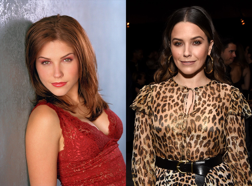 Sophia Bush as Brooke Davis -  After a turn on the short-lived comedy  Partners , Bush joined NBC's One Chicago world as Erin Lindsay. She starred on  Chicago P.D. , but also made appearances on  Chicago Fire ,  Chicago Med ,  Chicago Justice , and  Law & Order: SVU .
