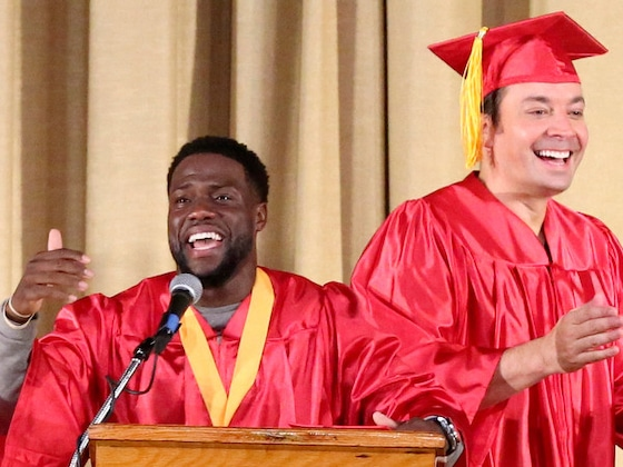 LOL! Watch Jimmy Fallon and Kevin Hart Go Back to High School