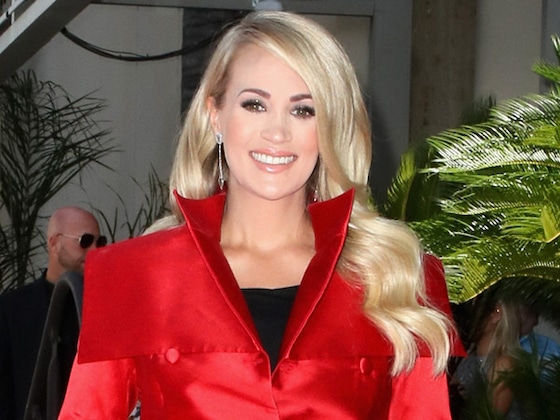 "Carrie Underwood Fully Embraces Being a ""Soccer Mom"""