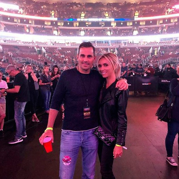 """Giuliana, Bill and Maroon 5 -  """"Getting. So. Excited. @maroon5 #chicago"""""""