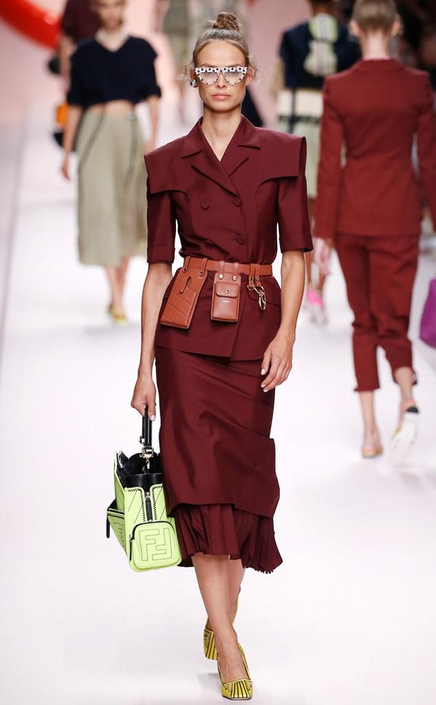 ESC: Best Looks Milan Fashion Week, Fendi, Kaia Gerber