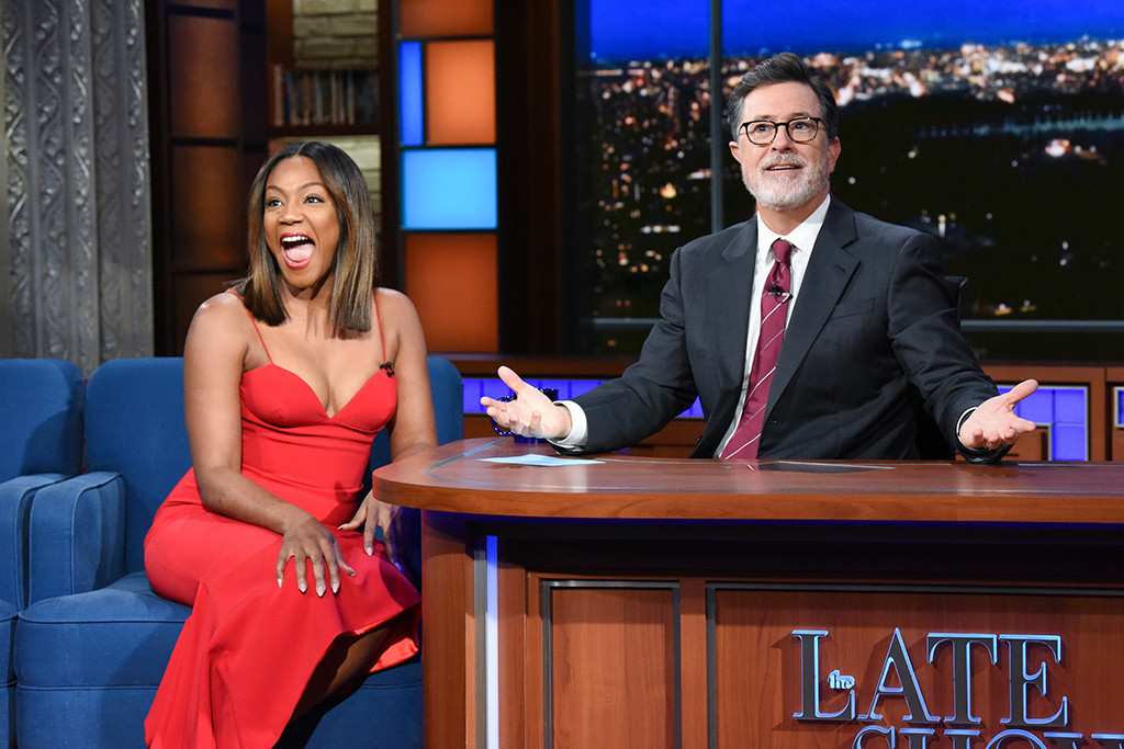 Tiffany Haddish, The Late Show With Stephen Colbert
