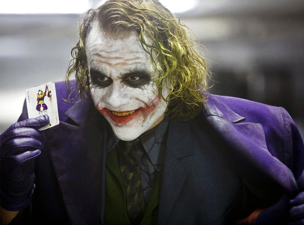 The Joker, The Dark Knight, Heath Ledger
