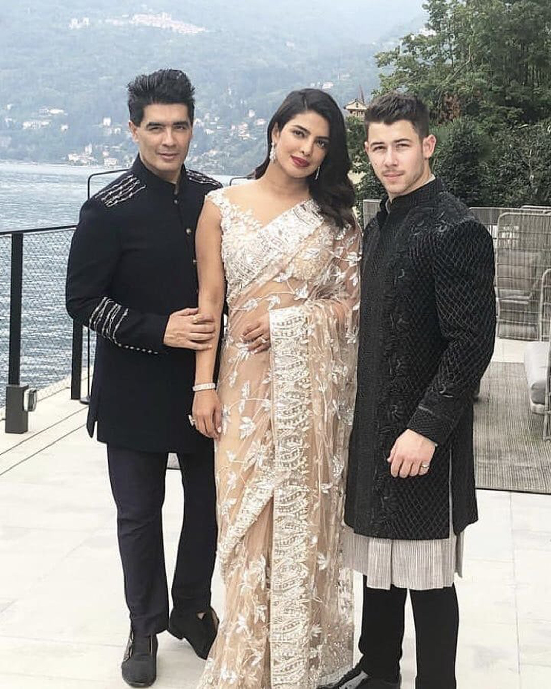 Nick Jonas And Priyanka Chopra Don Traditional Indian Ensembles In