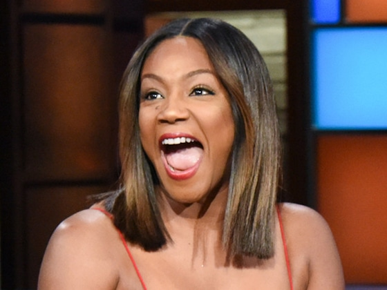 Tiffany Haddish Used to Put Grapefruits in Her Training Bra