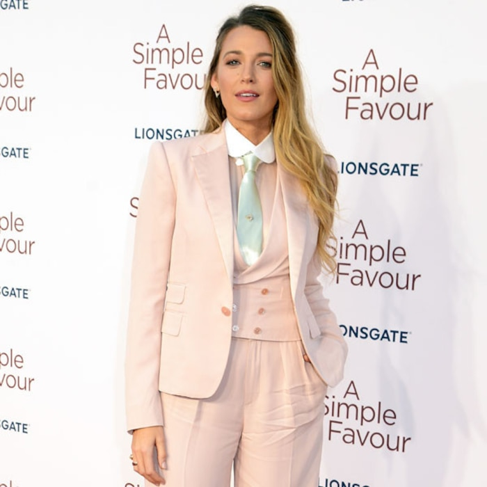 Blake Lively Calls Out Double Standards After Her Suits Become A