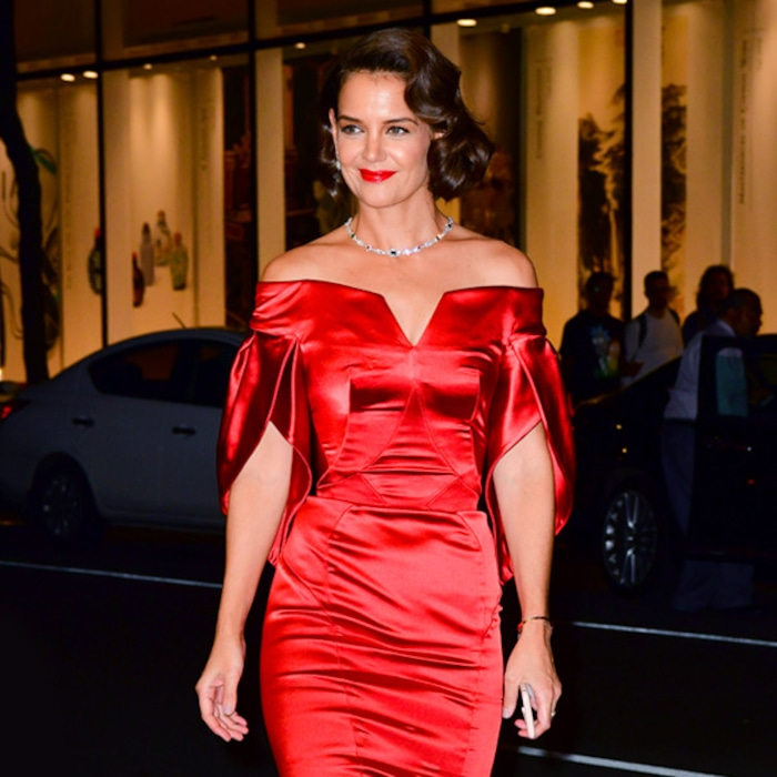 2d99c345346 Katie Holmes Is Bringing Sexy Back and More Best Dressed Stars