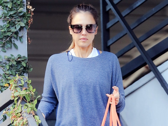 Saturday Savings: Jessica Alba's $18 Sweatshirt and More On-Sale Loungewear