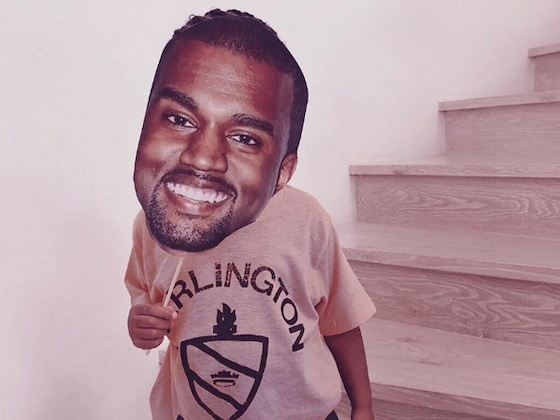 Kim Kardashian Just Proved Saint West Is Kanye West's Mini-Me
