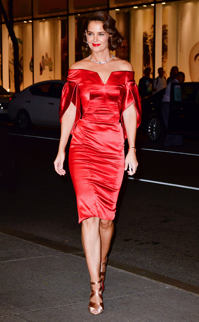ESC: Best Dressed, Katie Holmes