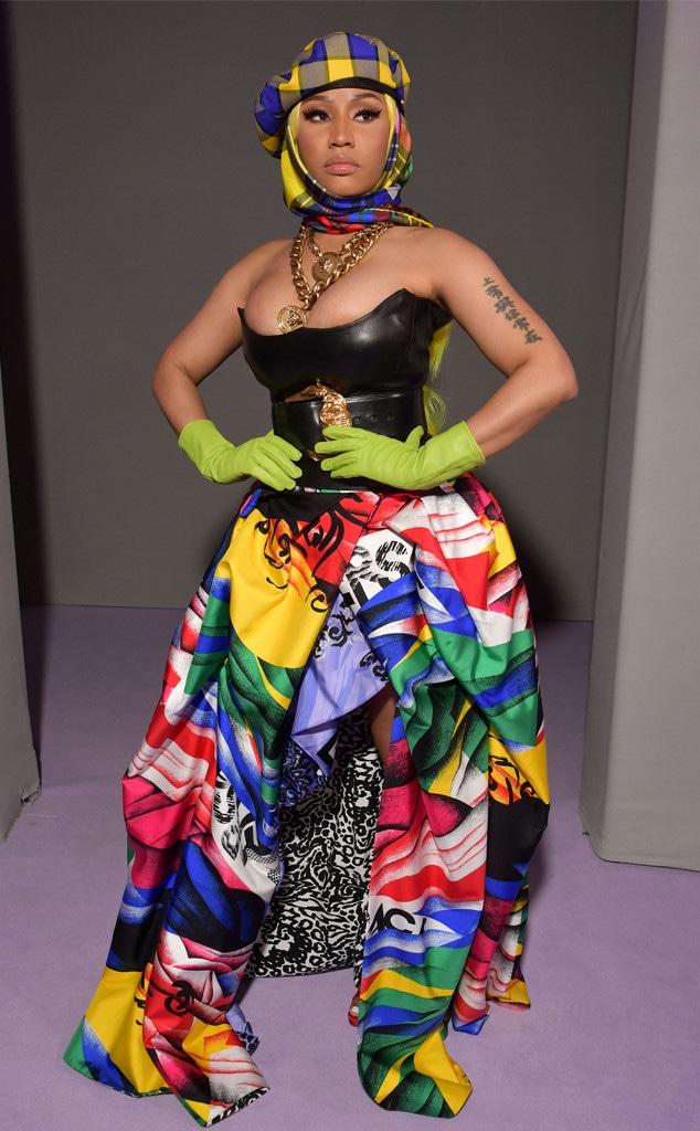 Nicki Minaj, Versace, Milan Fashion Week 2018