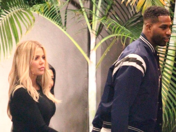 Khloe Kardashian and Tristan Thompson Show PDA at Jordyn Woods' Birthday Party