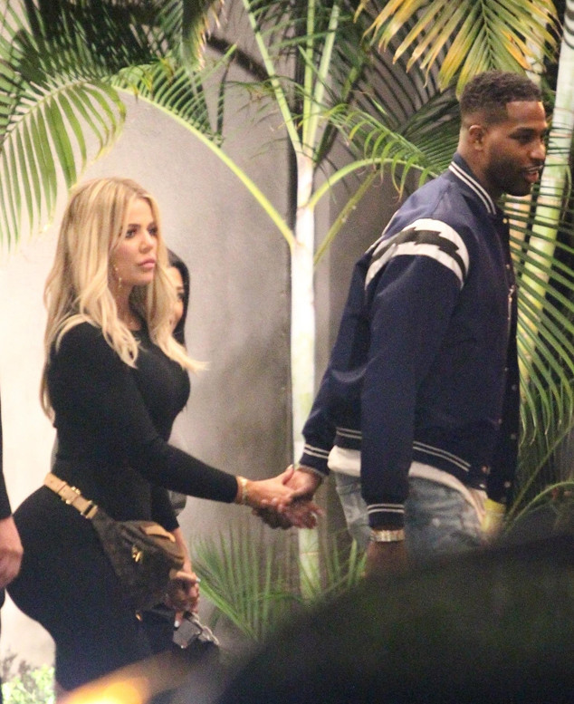 Khloe Kardashian, Tristan Thompson, Kourtney Kardashian