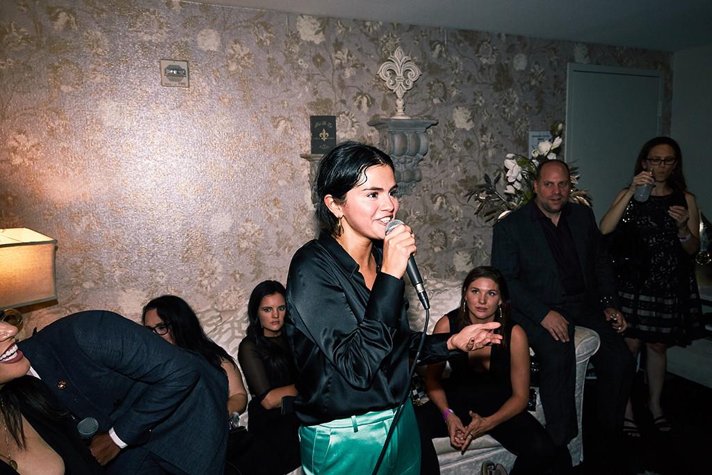 Jennifer Lopez, Las Vegas, Backstage, Selena Gomez