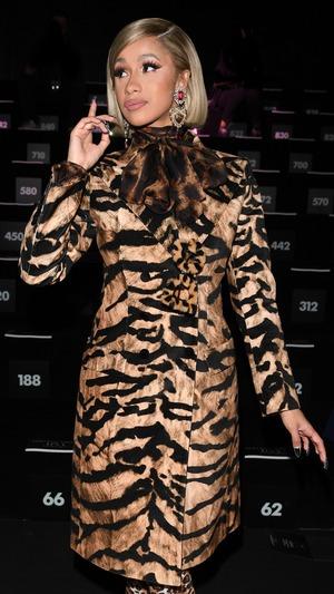 Cardi B, Milan Fashion Week