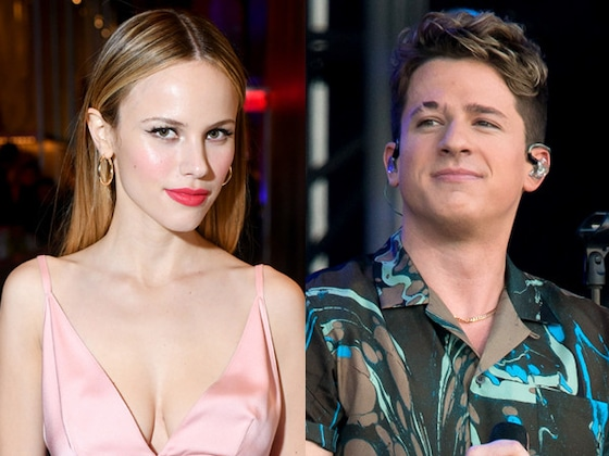 Halston Sage and Charlie Puth Show PDA in a Pool Amid Dating Rumors