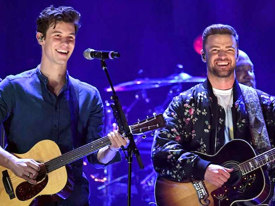 Justin Timberlake and Shawn Mendes Performed Onstage Together and It Was as Magical as it Sounds