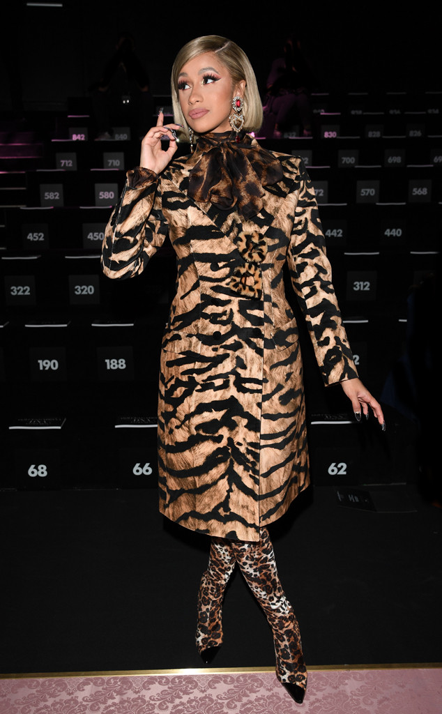 Cardi B Is Back With a Roar at First Event Appearance ...