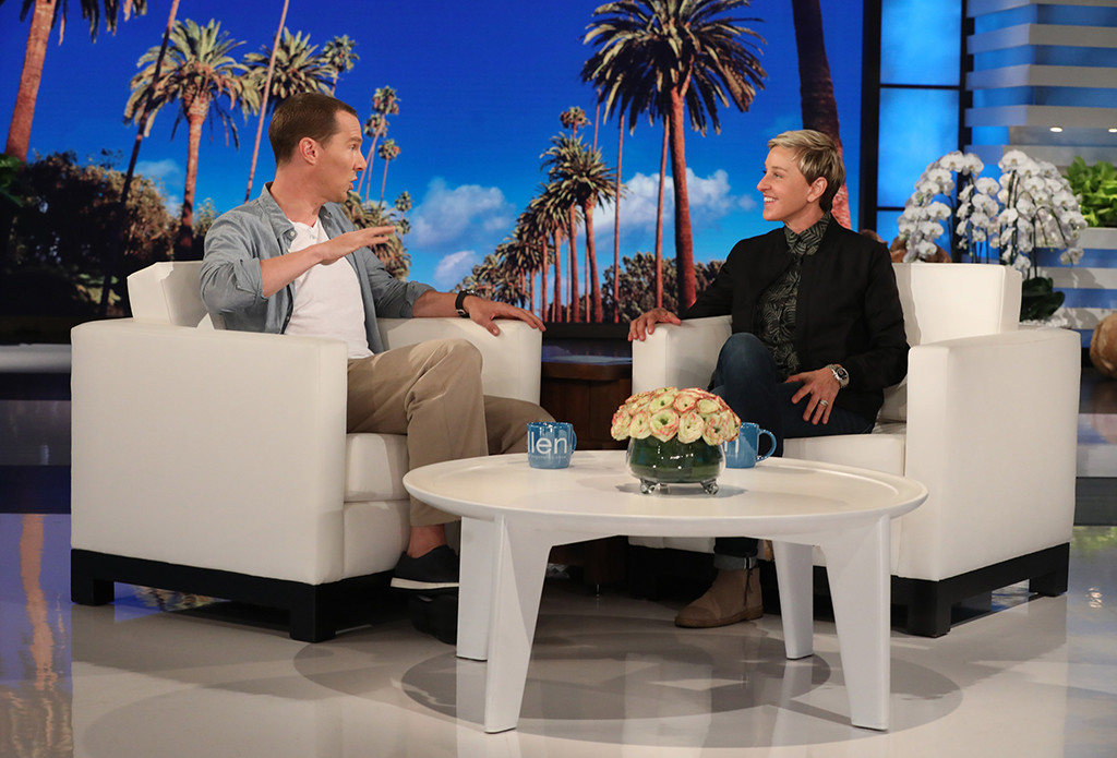 Benedict Cumberbatch, The Ellen DeGeneres Show