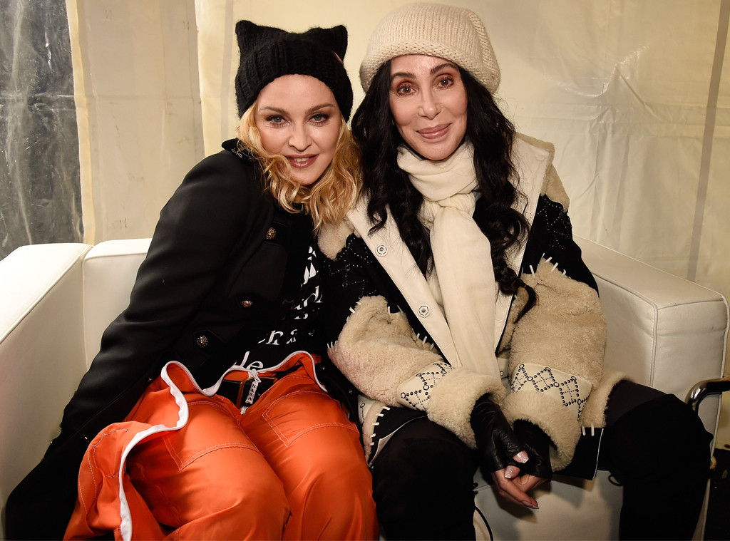 Madonna, Cher, Women's March