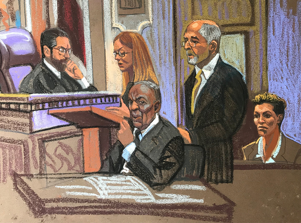 Bill Cosby, Court Sketch