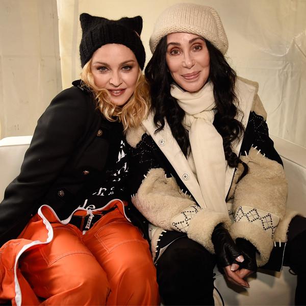 Madonna, Cher, Women's March