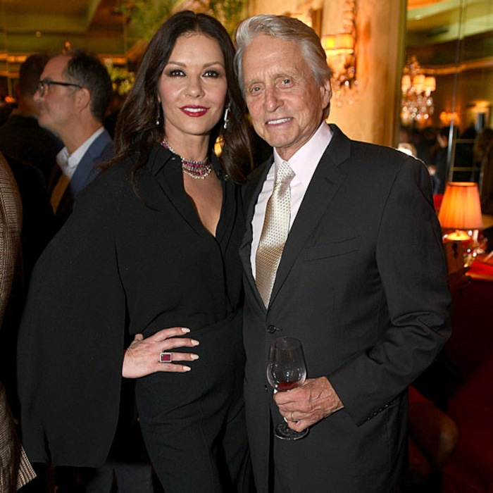Image result for catherine zeta jones and michael douglas