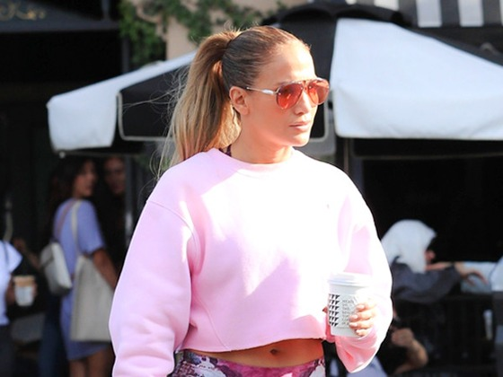 Jennifer Lopez's Pop of Pink and More Celeb Sweater Trends to Try This Fall