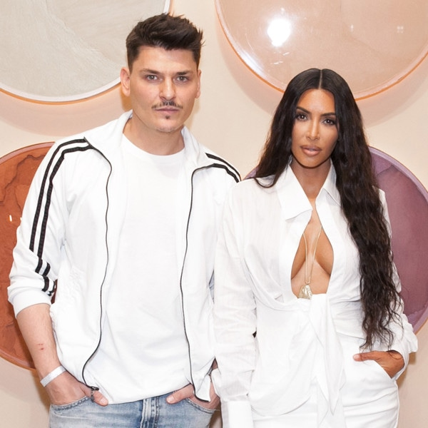 ESC: Mario Dedivanovic, Kim Kardashian West