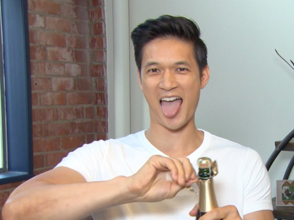 Harry Shum Jr. Pops Champagne Over <i>Shadowhunters</i>' Unprecedented PCAs Write-In Votes