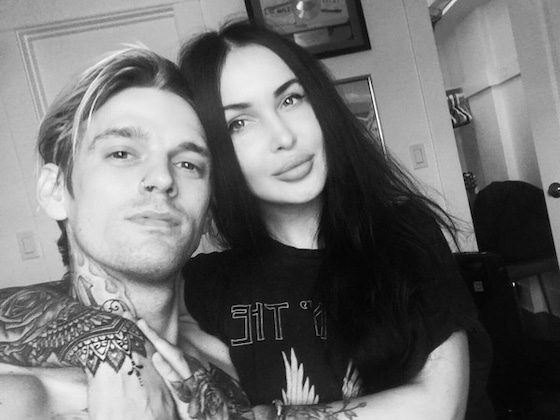Aaron Carter Professes Love for New Girlfriend Lina Valentina on Instagram