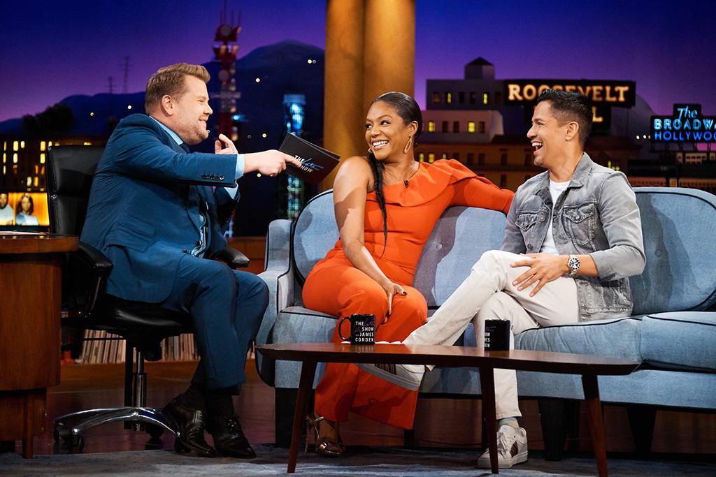 Tiffany Haddish, Jay Hernandez, The Late Late Show With James Corden