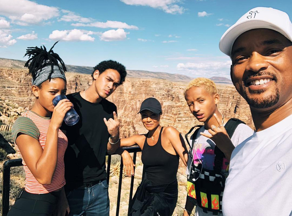Will Smith, Birthday, Grand Canyon, Bungee Jump