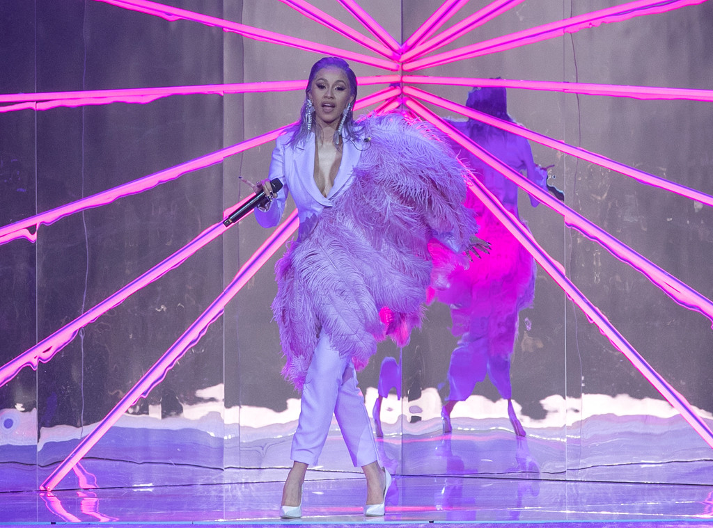 Cardi B, ETAM show, Paris Fashion Week